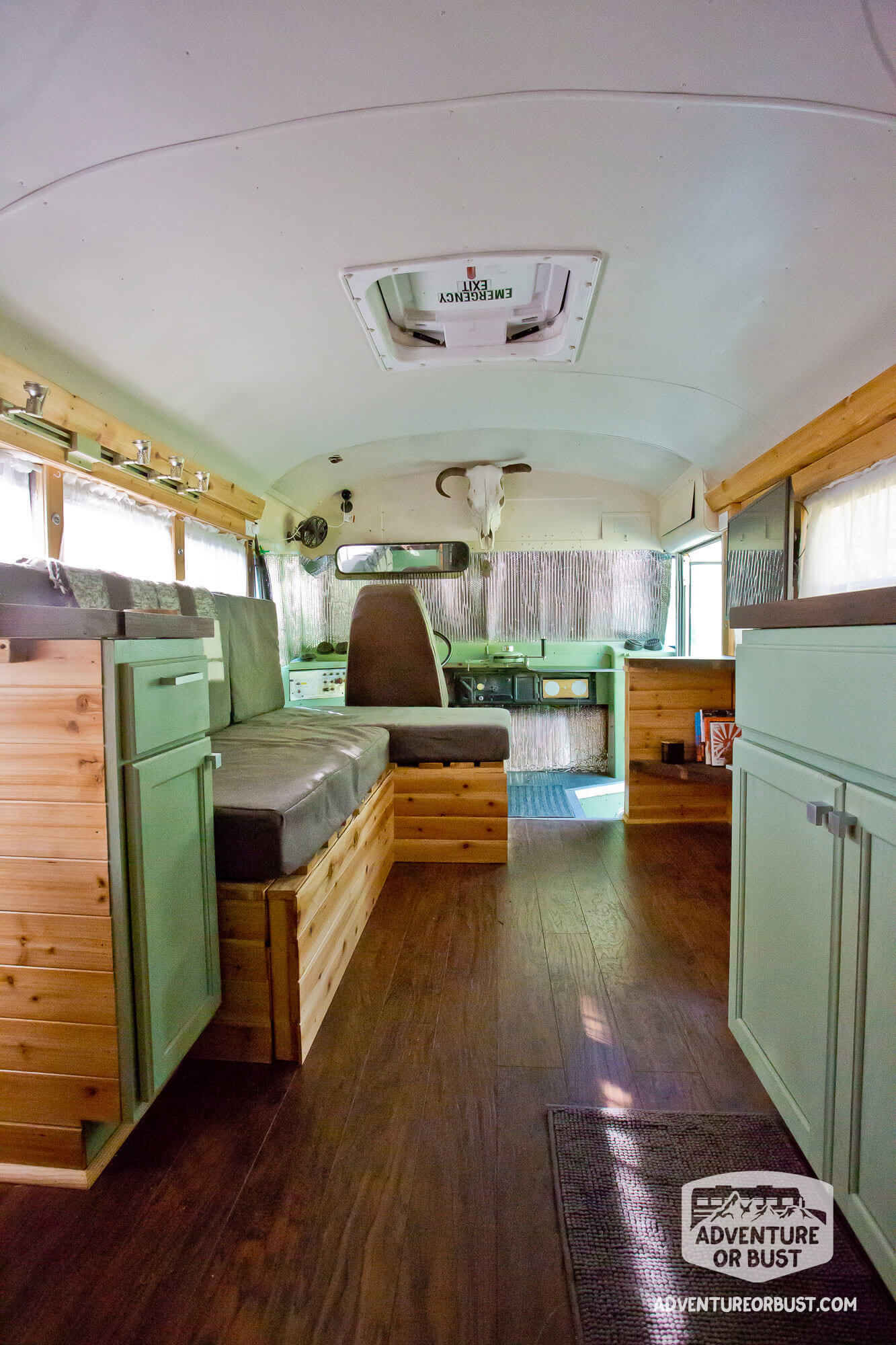 adventure or bust converted school bus completed photos